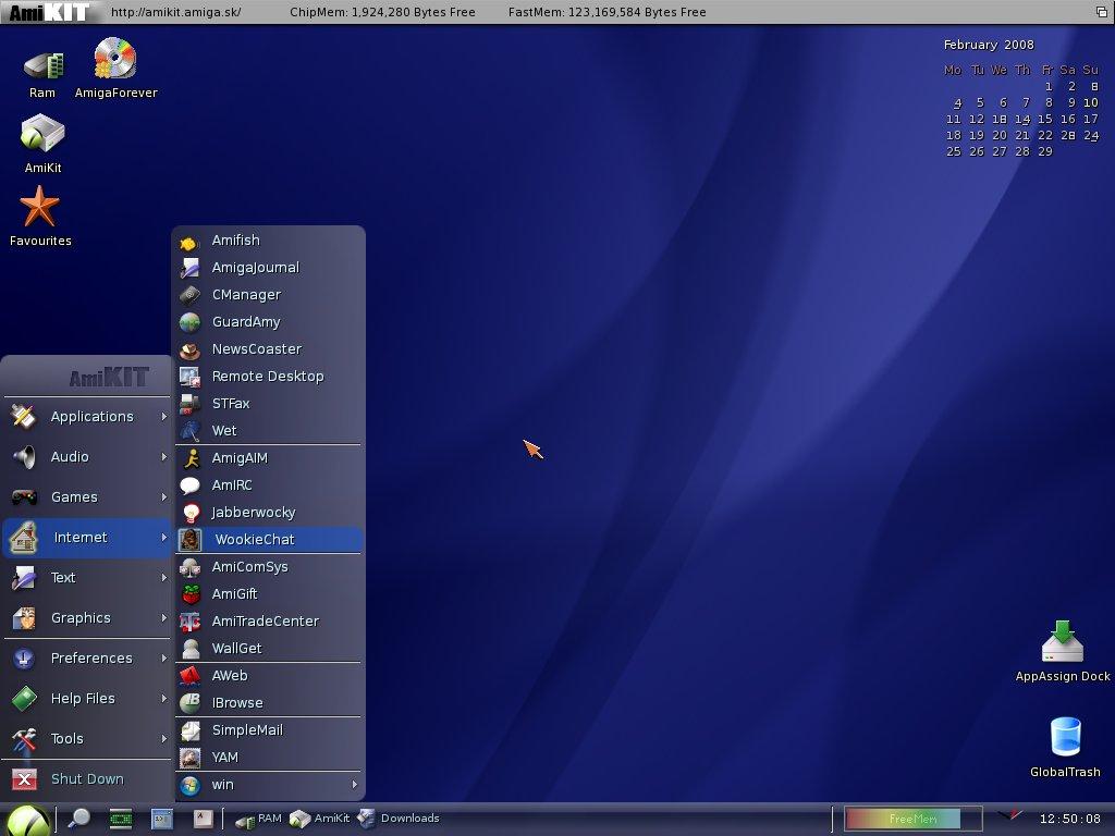 The Slack World 2008: Tux meets Amiga, part 2
